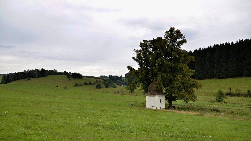 Kaple v Hrnčířském údolí