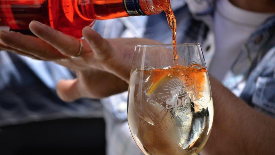 Osvěžující letní drink