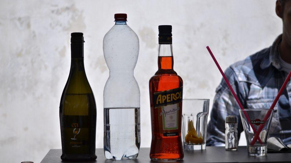 Příprava koktejlů