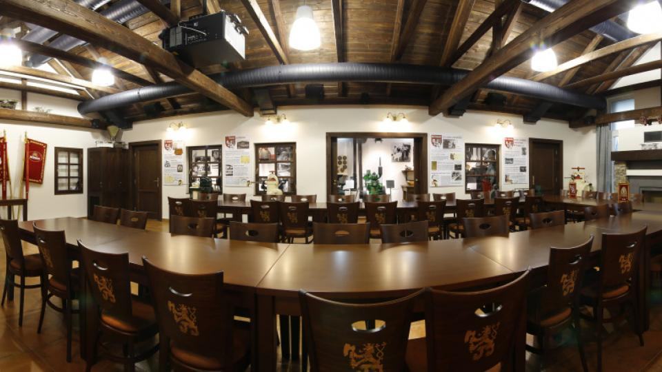 Působivý sál patří k dominantám muzea