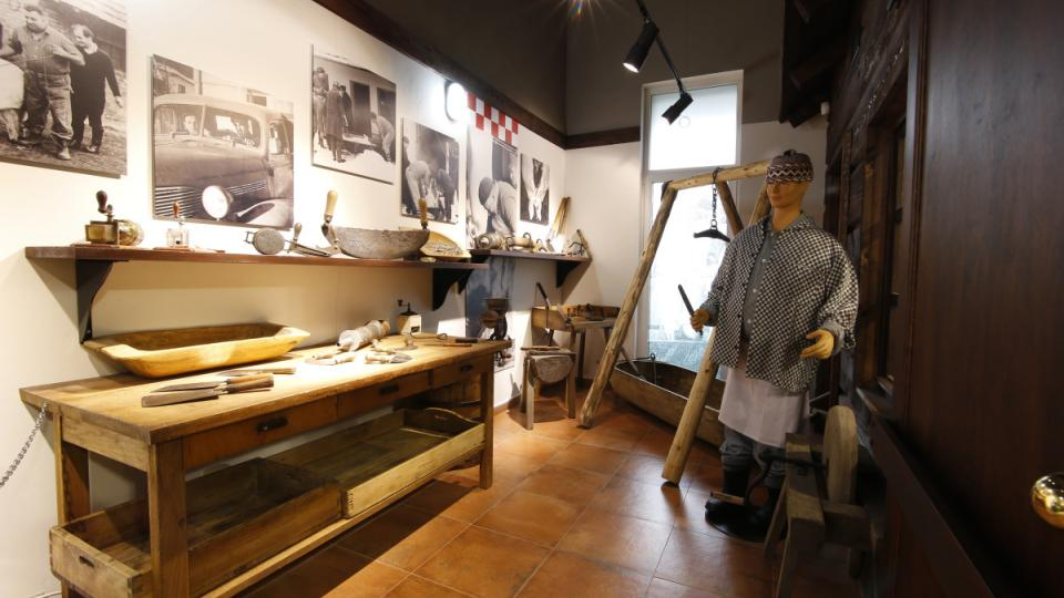 Jeden oddíl muzea se věnuje i tradiční zabijačce