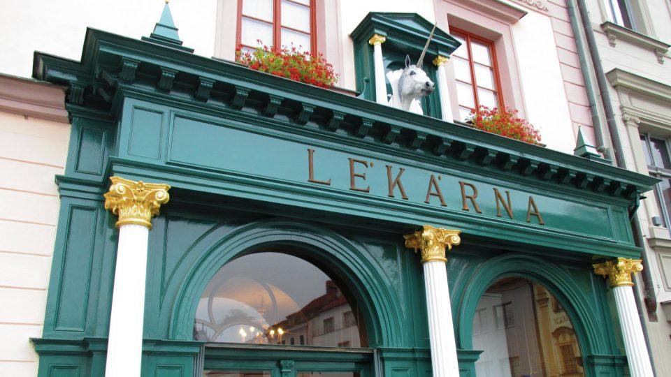 Barokní lékárna je z první poloviny 17. století