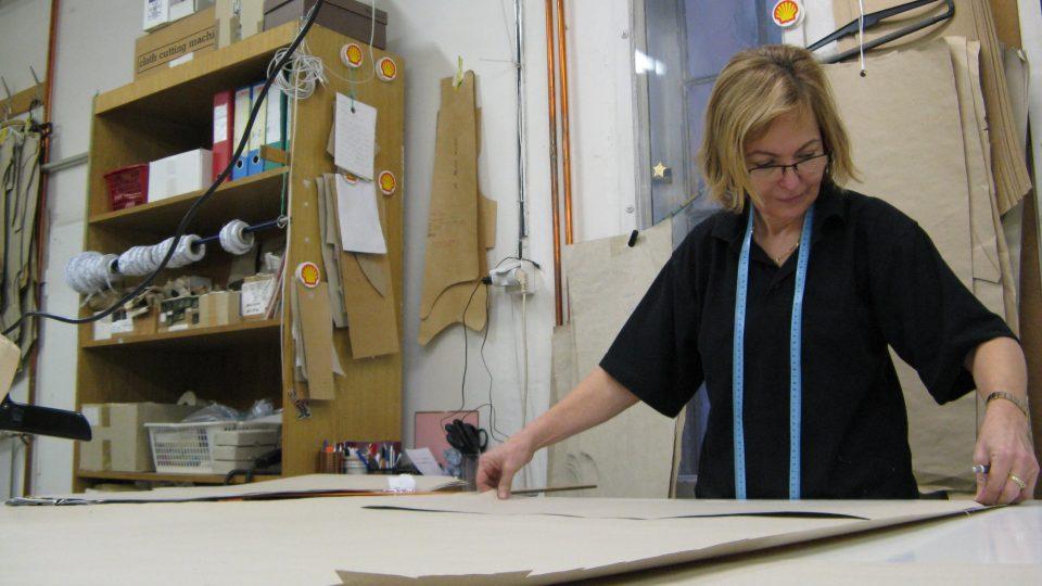 Marie Mafková připravuje rondon