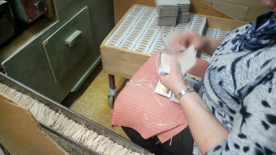 Balení do krabiček