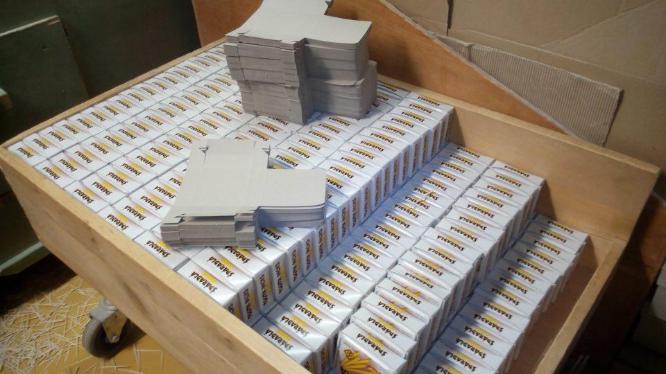 Naplněné krabičky