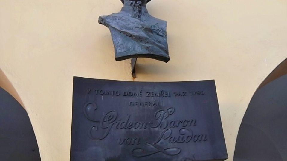 Laudonův dům najdete na Masarykově náměstí v centru Nového Jičína
