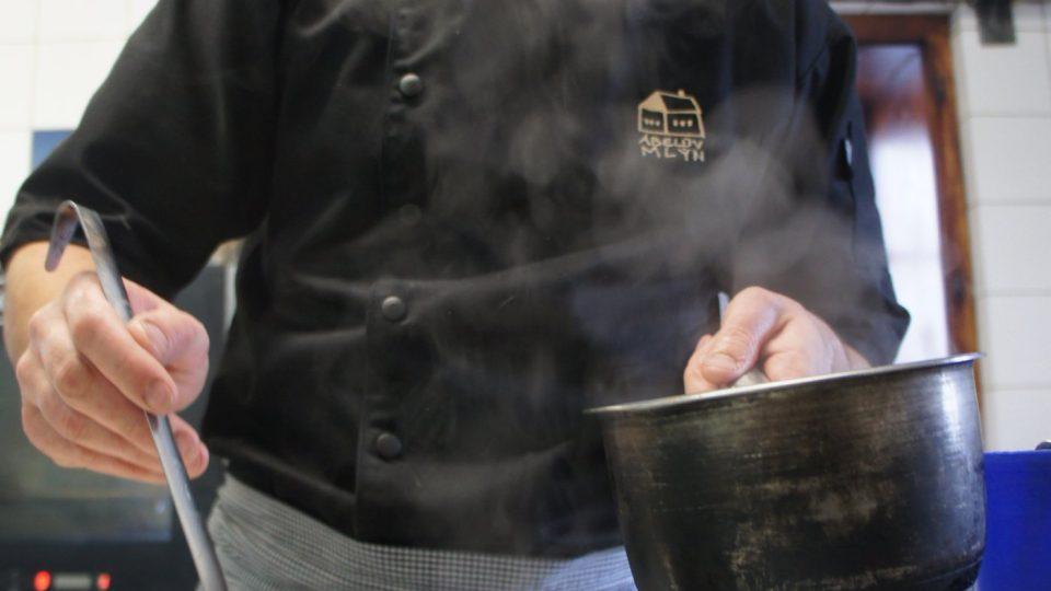 Recept připravil Josef Šámal