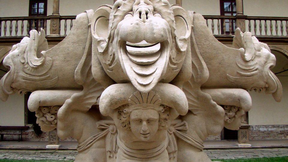 Oprava Bakchovy fontány vyšla na více než tři miliony korun