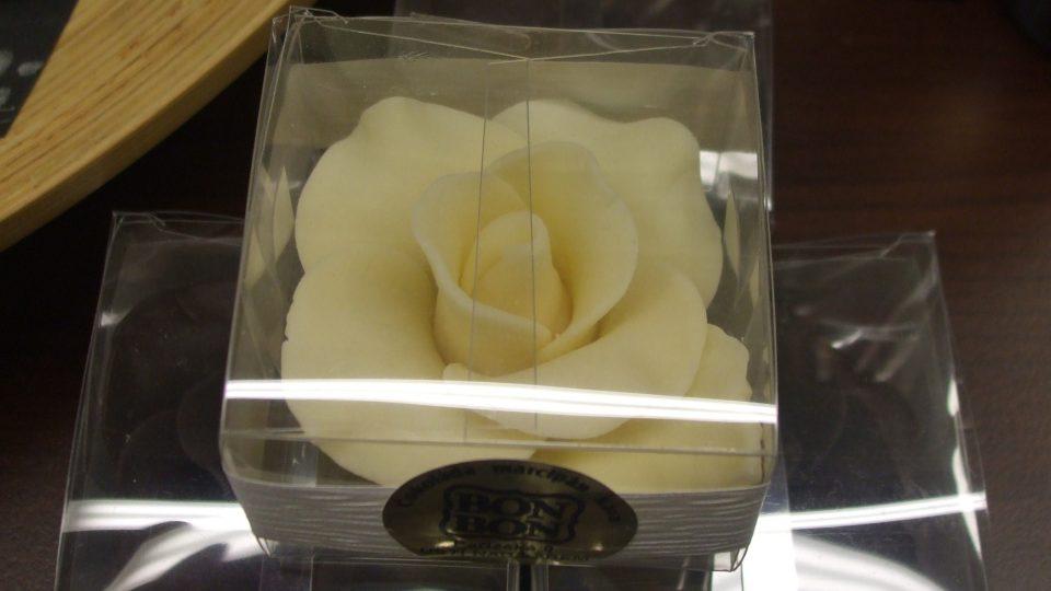 Čokoládová růže