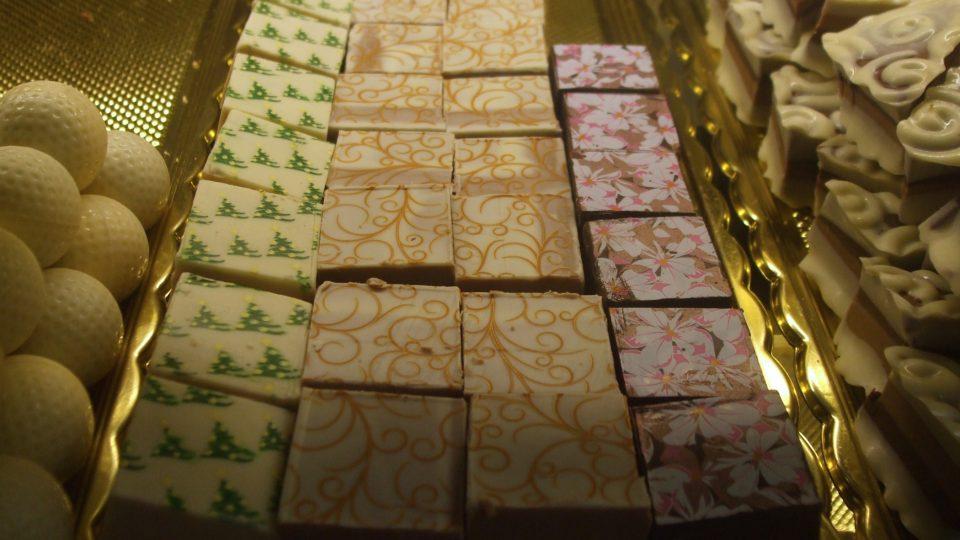 Zdobené bonbony