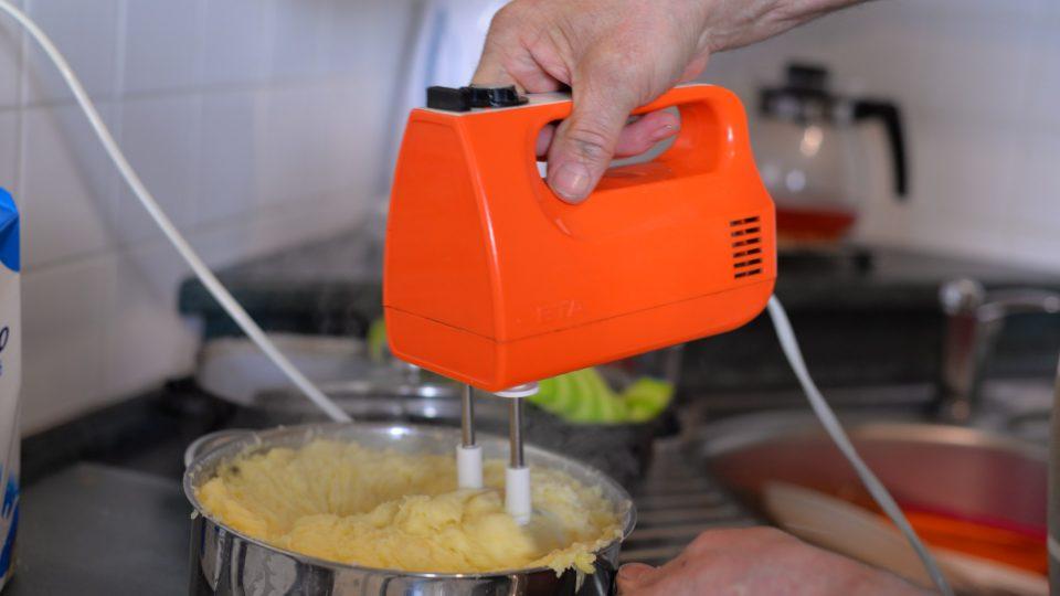 V mezičase si můžeme udělat jako přílohu bramborovou kaši