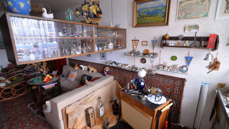 Domov Hany Auerové je plný cestovatelských vzpomínek