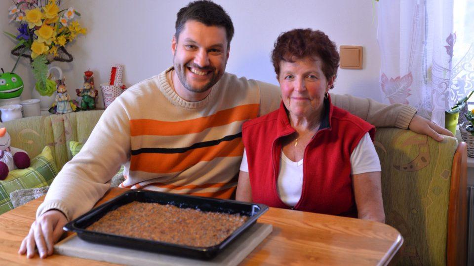 Patrik Rozehnal a Vlasta Machačková