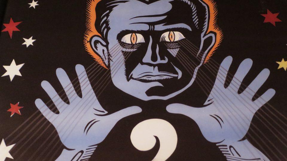 V Muzeu kouzel uvidíte celou řadu dobových plakátů, které zvou na kouzelnická představení