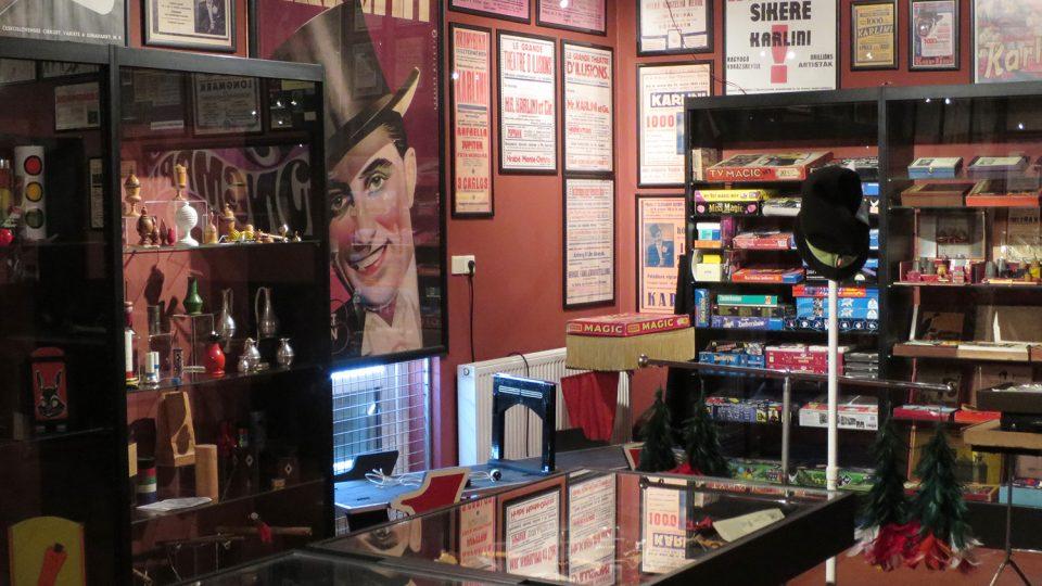 V Muzeu kouzel uvidíte rekvizity kouzelníků od roku 1820 po současnost