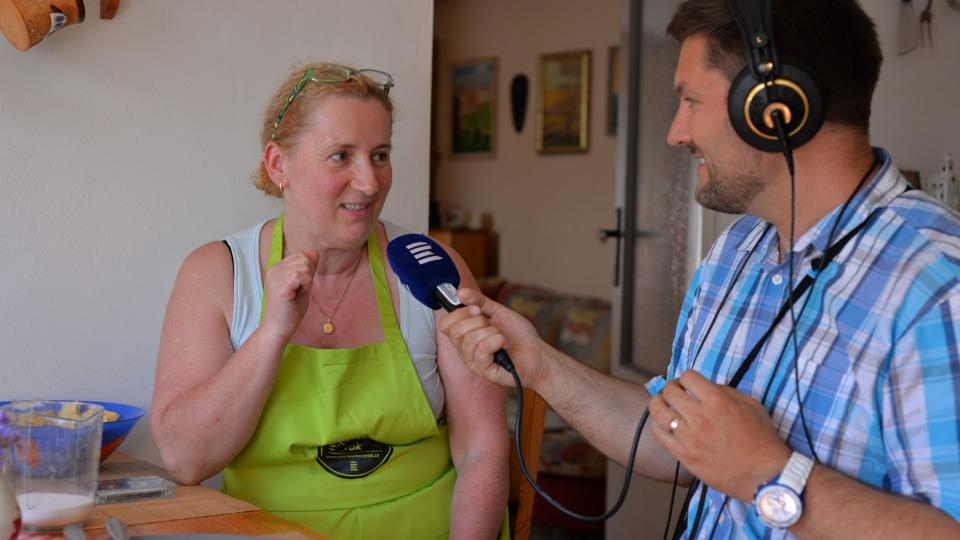 Jana Prudičová při rozhovoru