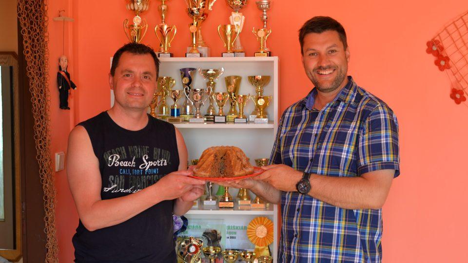 Jaroslav Němec a Patrik Rozehnal