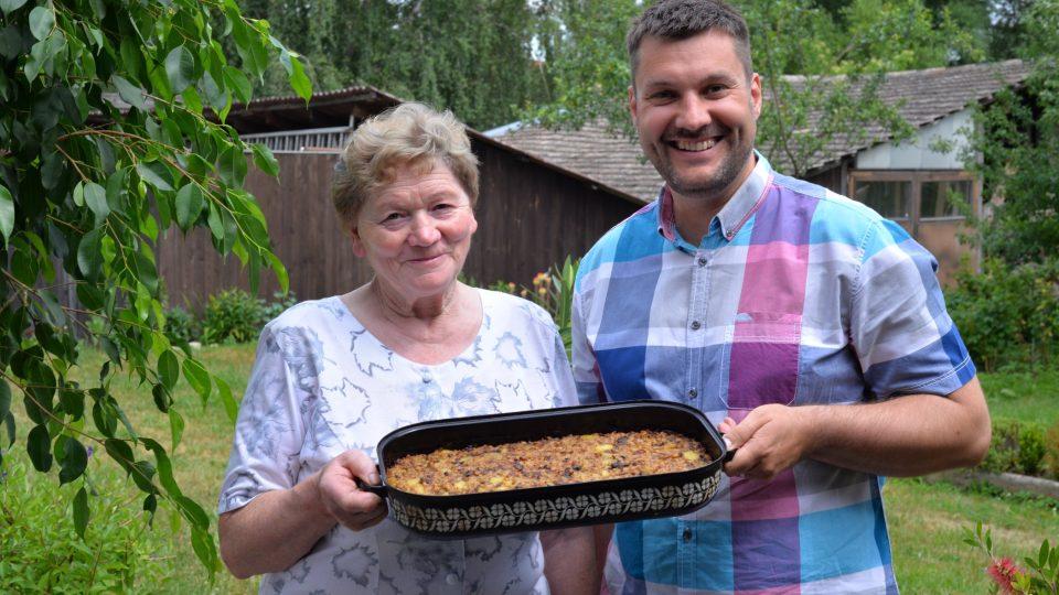 Ludmila Sůrová a Patrik Rozehnal