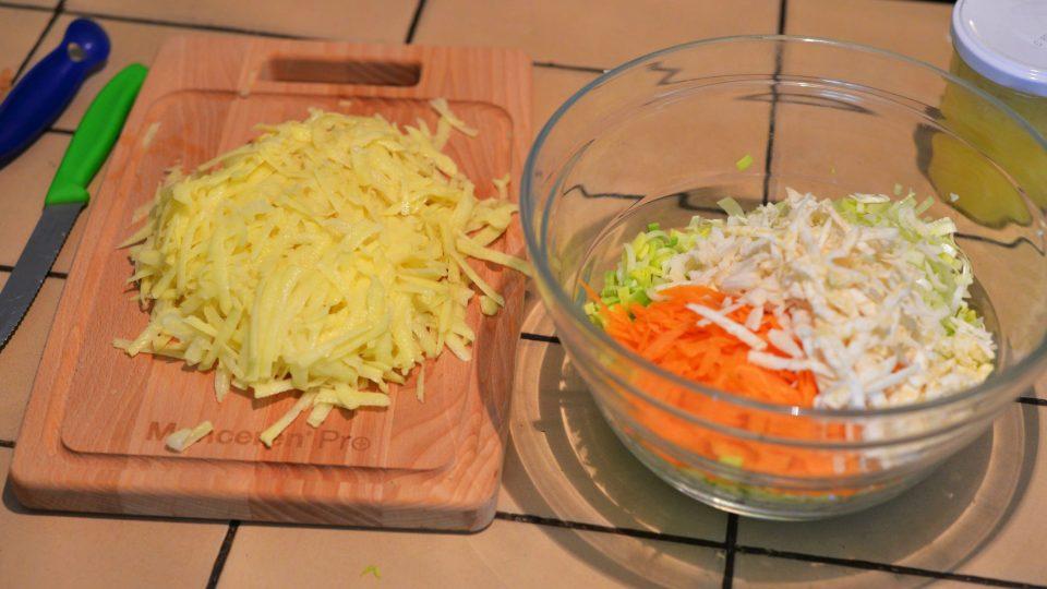 Zelenina hraje všemi barvami