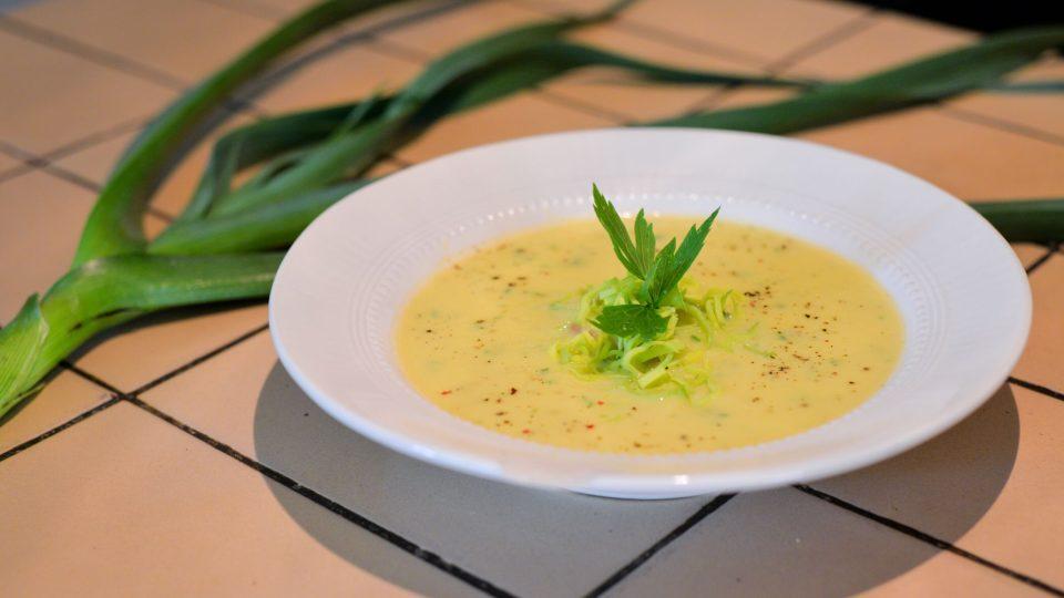 Pórková polévka Jany Exnarové