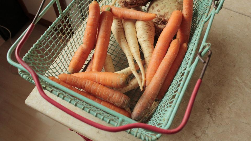 Potřebná kořenová zelenina