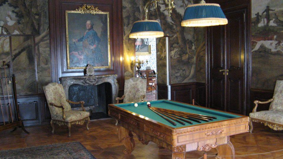 Při rekonstrukci hořovického zámku se podařilo vše vrátit do původního stavu díky hraběnce Nosticové