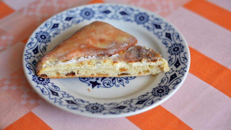 Horácký neboli pajerský koláč Vladimíry Bastrové