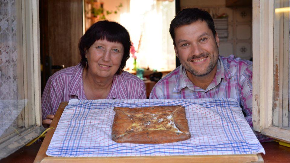 Vladimíra Bastrová a Patrik Rozehnal