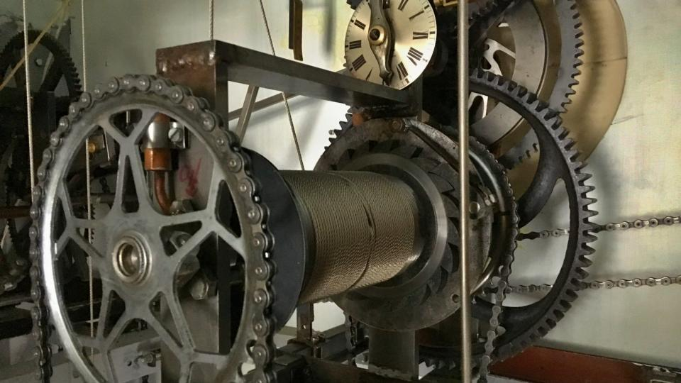Stroj funguje i z dílů z jízdního kola