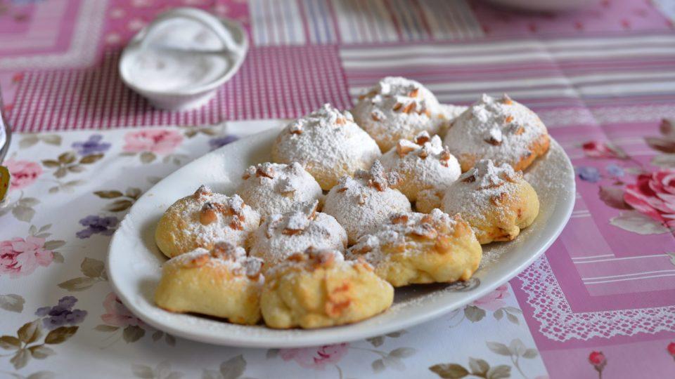 Pavla Šulcová připravila mimo jiné i tvarohové koláčky s mandlemi