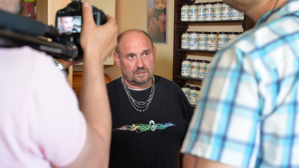 Vášnivý houbař Dalibor Marounek