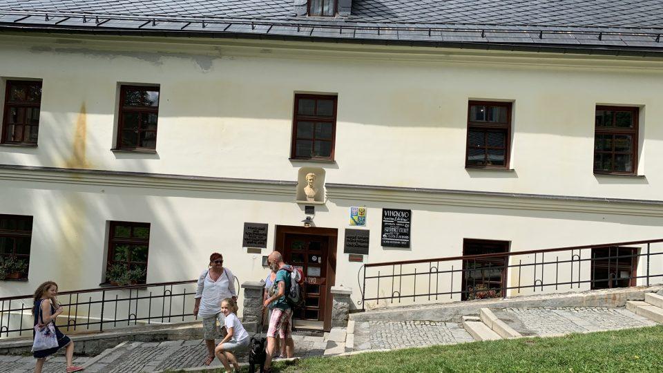 Priessnitzův rodný dům