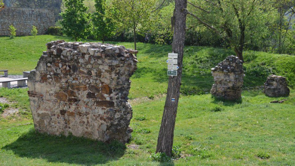 Pozůstatky tvrze z 15. století
