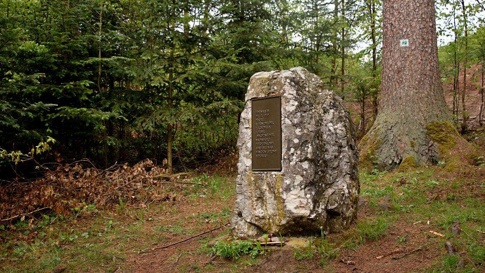 Liduščin památník u Bílovic nad Svitavou
