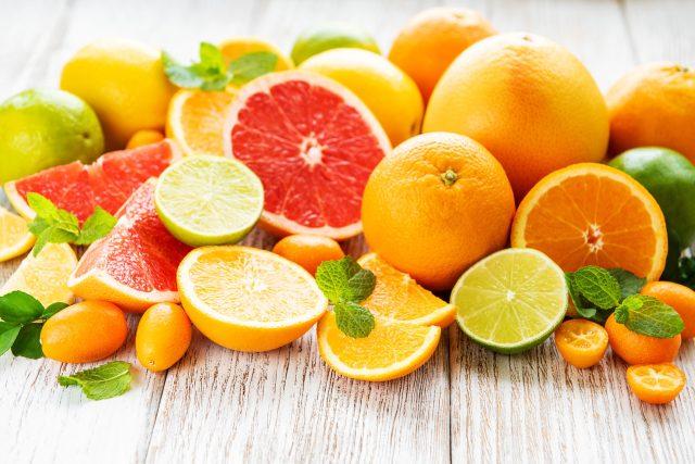 Citrusy,  vitamín C,  pomeranče,  limety,  citrony,  grapefruity,  zdravá strava,  ovoce,  prevence nachlazení,  ilustrační foto | foto: Fotobanka Profimedia