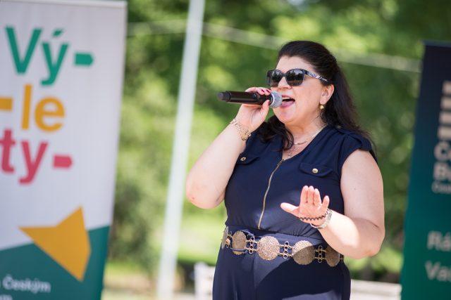 Program Léta v lázních v Třeboni zpestřilo vystoupení Jany Chládkové